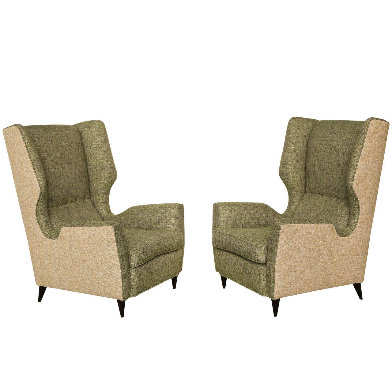 stool chair fantastic furniture dxracer gaming canada pair of high back wing chairs for sale at 1stdibs
