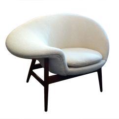 Fried Egg Chair Foldable Meditation Hans Olsen At 1stdibs