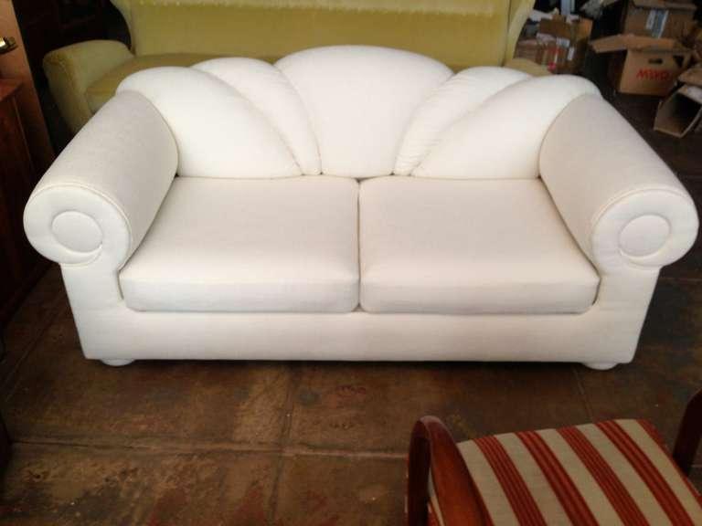 circular sofas ashley sofa with chaise 80s