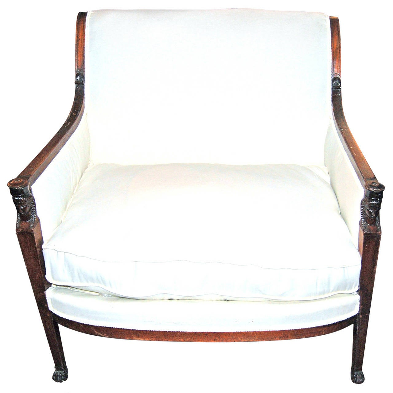 Chair For Sale Period Consulate Walnut Marquis Chair For Sale At 1stdibs
