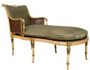Pair Of Italian Cherry Inlaid Neoclassical Side Chairs