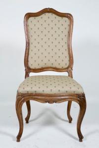 Large Old Italian Walnut Chairs at 1stdibs