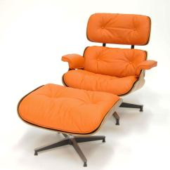 Orange Leather Chairs Hanging Ceiling For Bedrooms Eames 670 And 671 Lounge Chair In Quothermes Quot