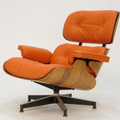 Orange Leather Chairs Wingback Chair Recliner Slipcover Eames 670 And 671 Lounge In Quothermes Quot