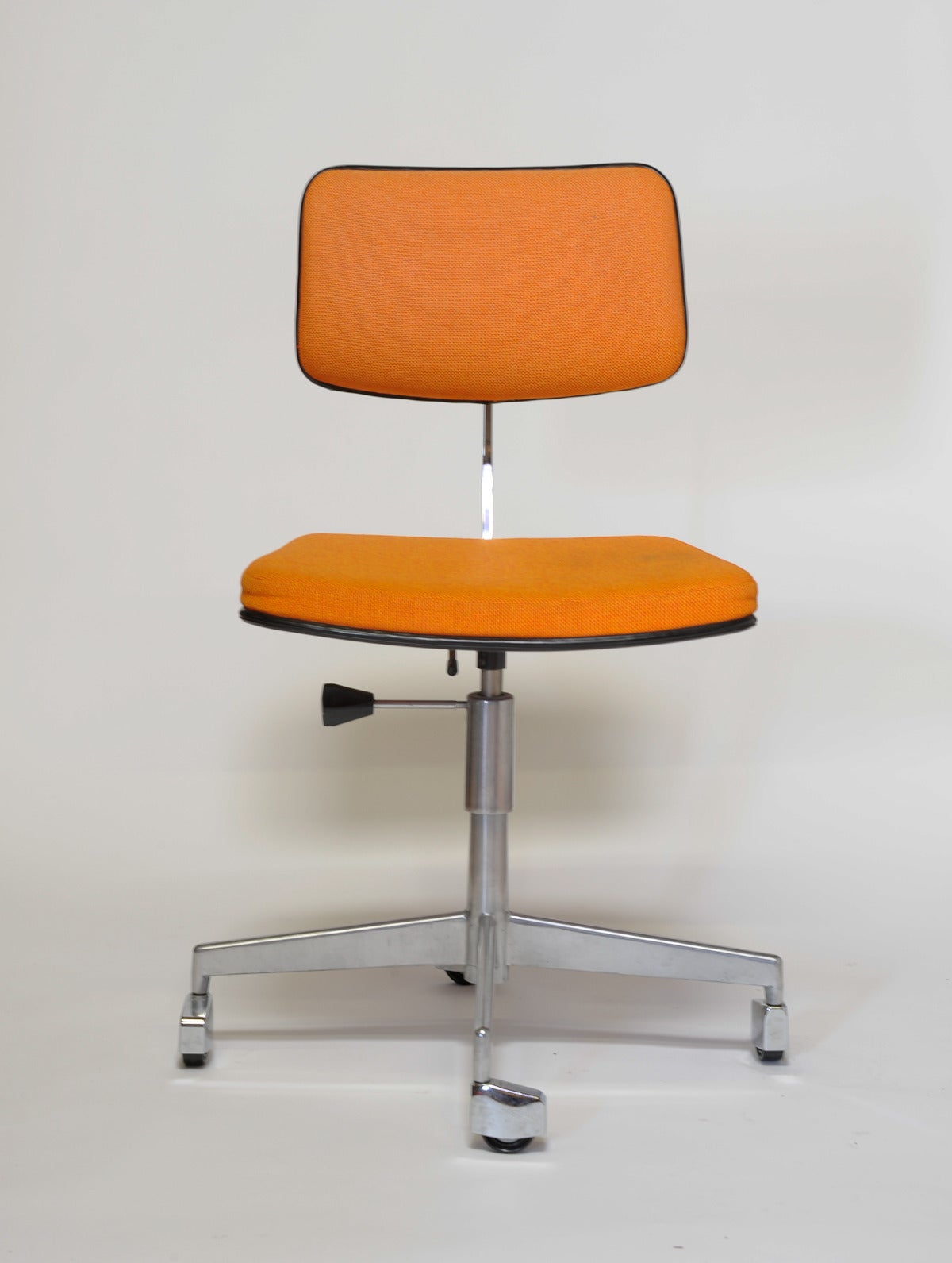 Rolling Desk Chairs 1960s Labofa Danish Rolling Office Chair At 1stdibs