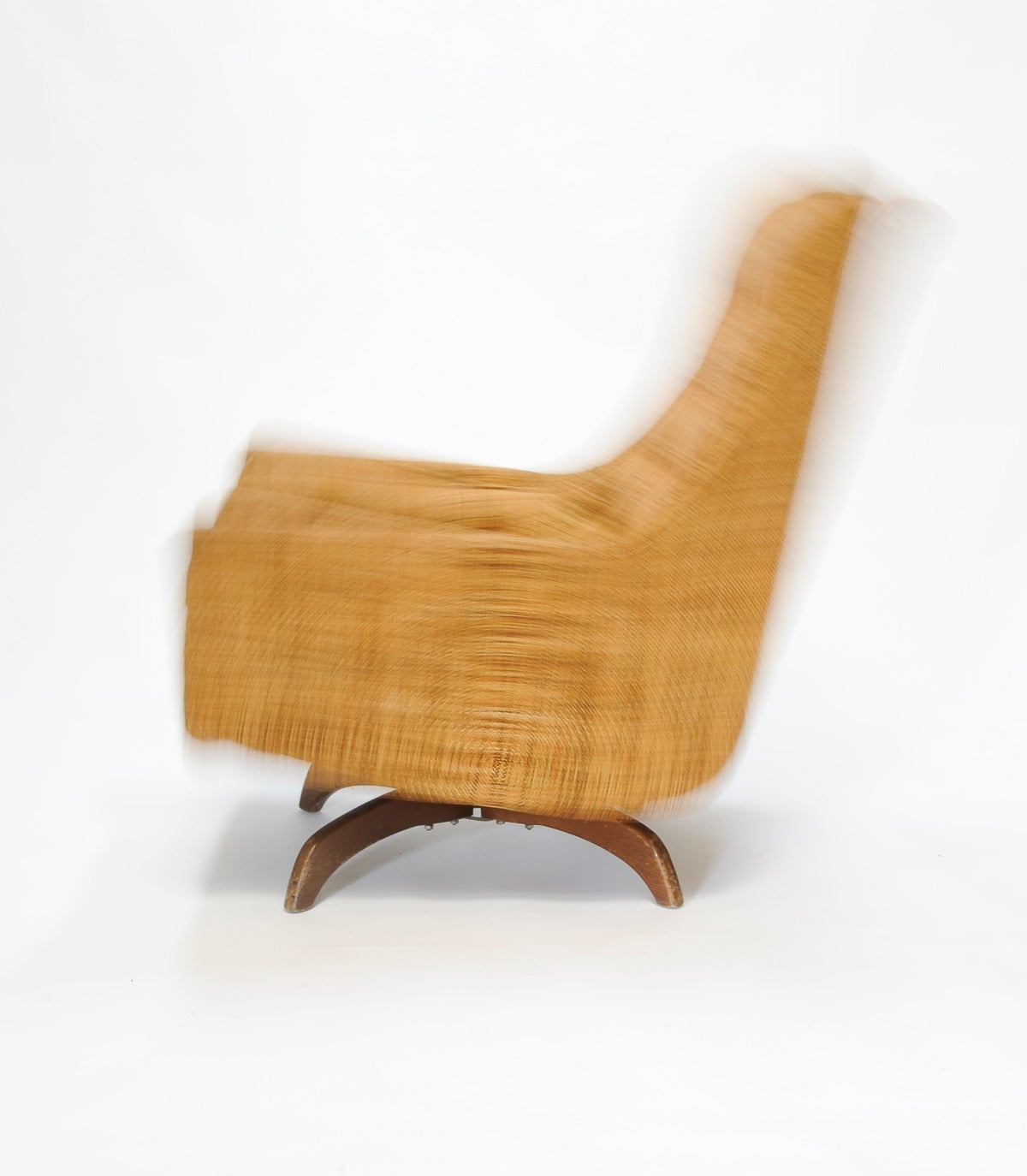 adrian pearsall rocking chair rustic metal chairs club for sale at 1stdibs