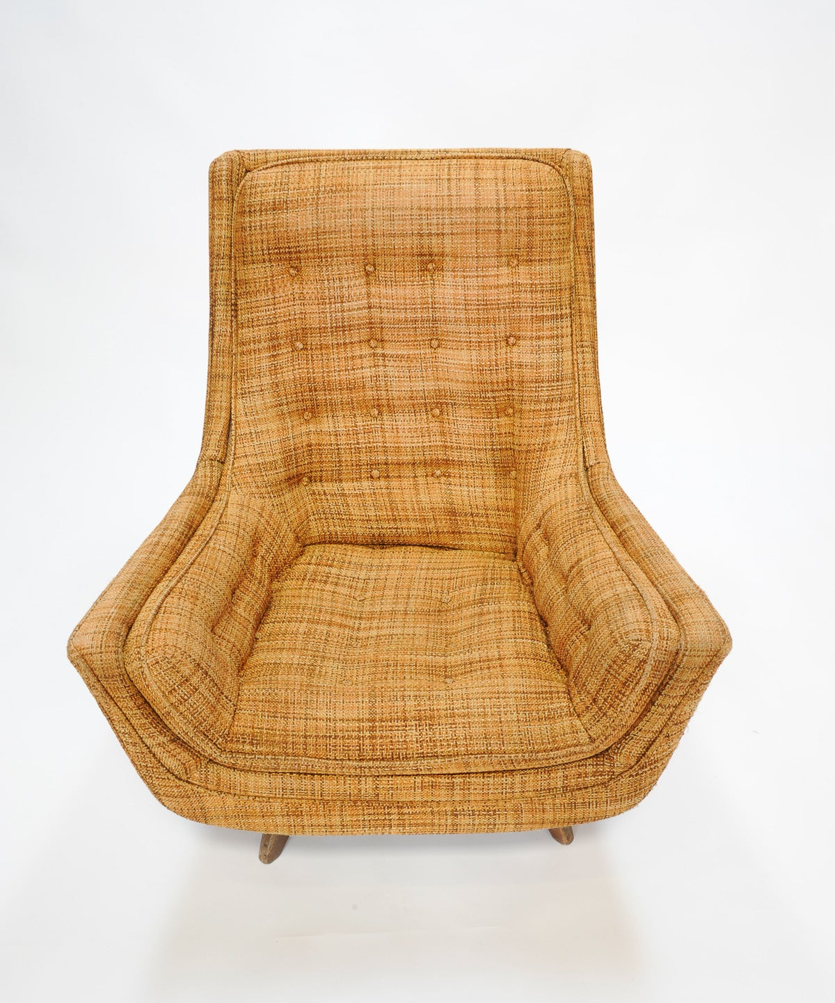 adrian pearsall rocking chair teknion office club for sale at 1stdibs