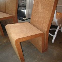 Frank Gehry Cardboard Chairs Kitchen And Dining Room Easy Edges At 1stdibs