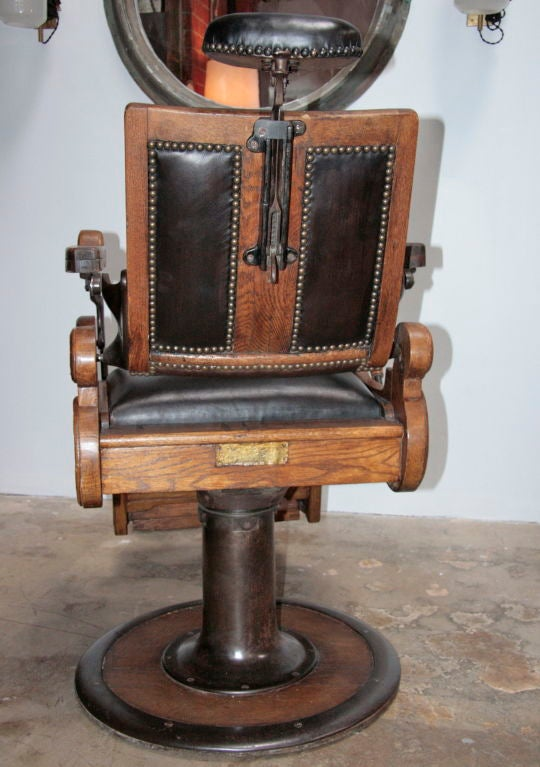 antique dentist chairs hanging chair for living room italian vintage barber at 1stdibs