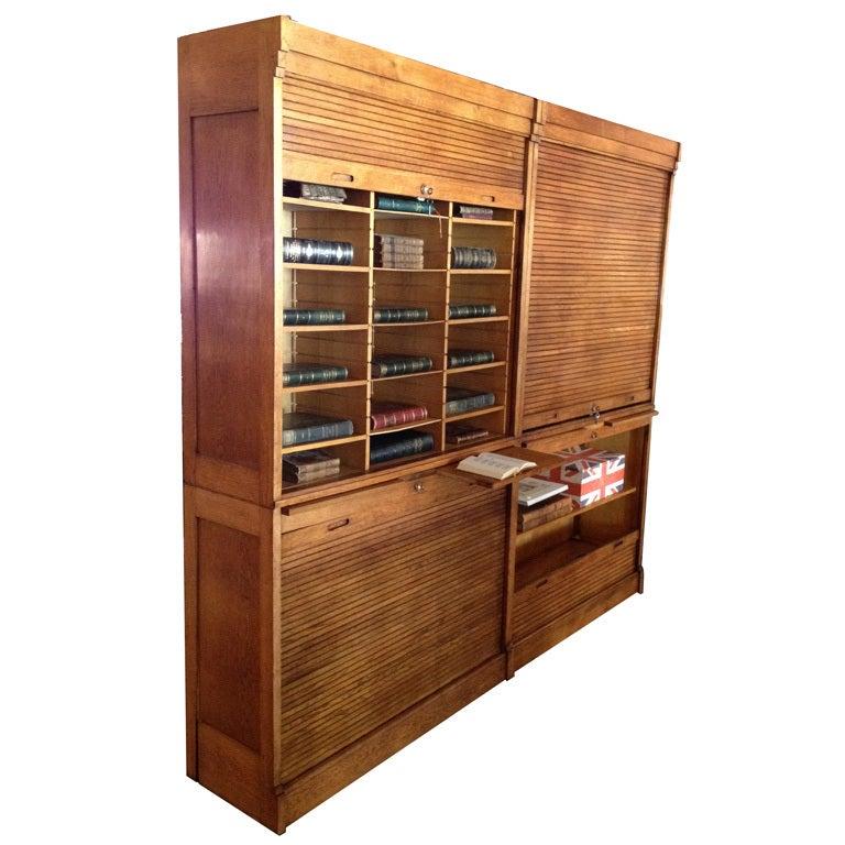 Oak File Cabinet At 1stdibs