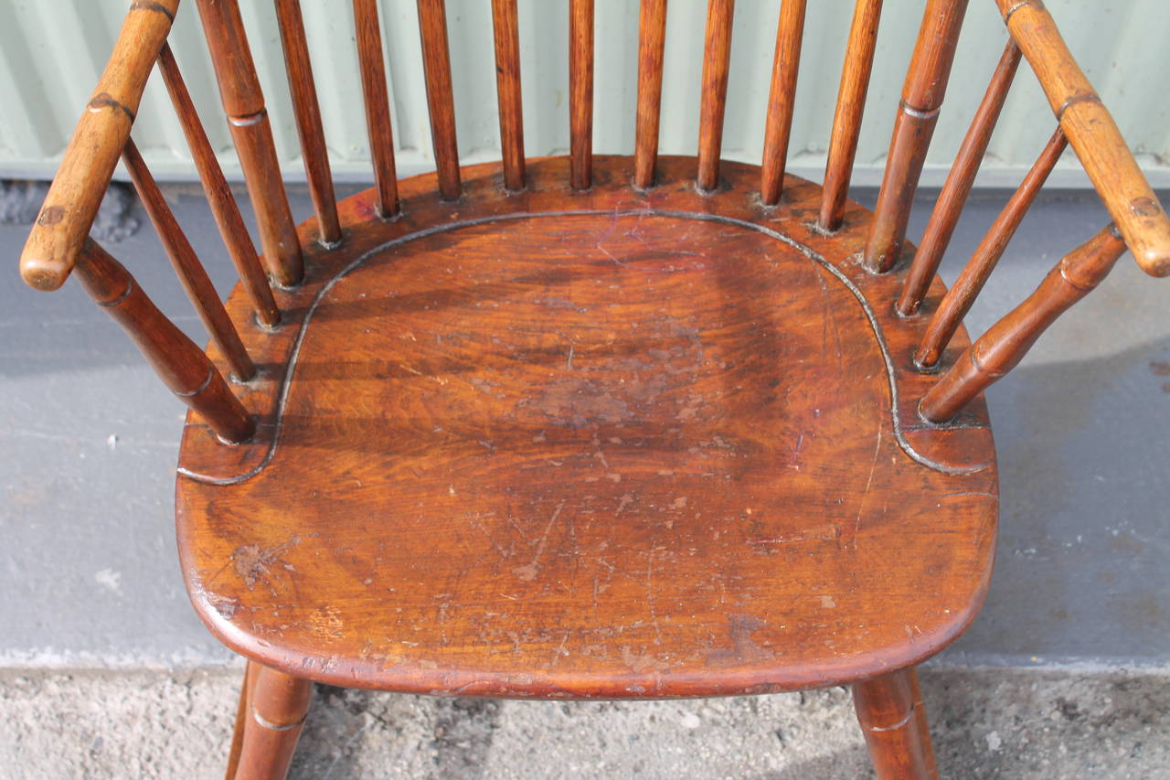 windsor rocking chair cushions posture sitting standing design and exercise 19th century from pennsylvania at
