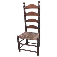 Ladder Back Chair Yugoslavian Folding Early 18th Century New England Side For Sale At