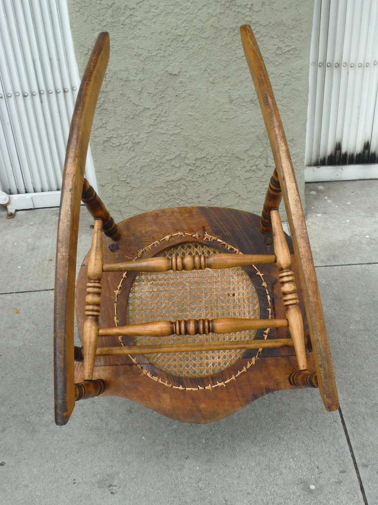 mid century cane barrel chair design glass 19thc pine and oak victorian rocking w/ seat at 1stdibs