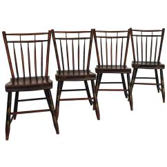 Diy Painted Windsor Chairs European Chair Covers Early 19th Century Rod Back Birdcage From