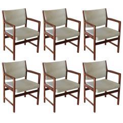 Set Of Six Dining Chairs For Sale Revolving Cuddle Chair Swedish At 1stdibs