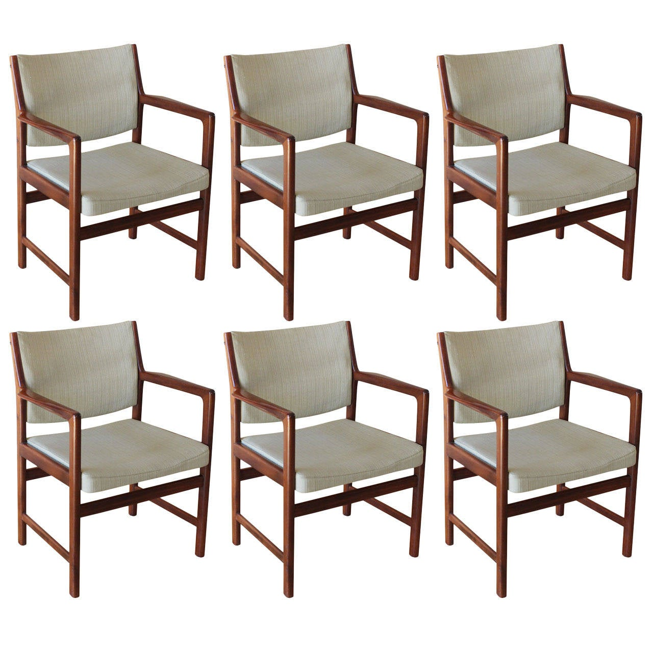 Dining Chairs Set Of 6 Set Of Six Swedish Dining Chairs For Sale At 1stdibs