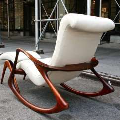 Vladimir Kagan Rocking Chair Xbox One Gamer And Ottoman By C 1950s At 1stdibs Mid Century Modern For