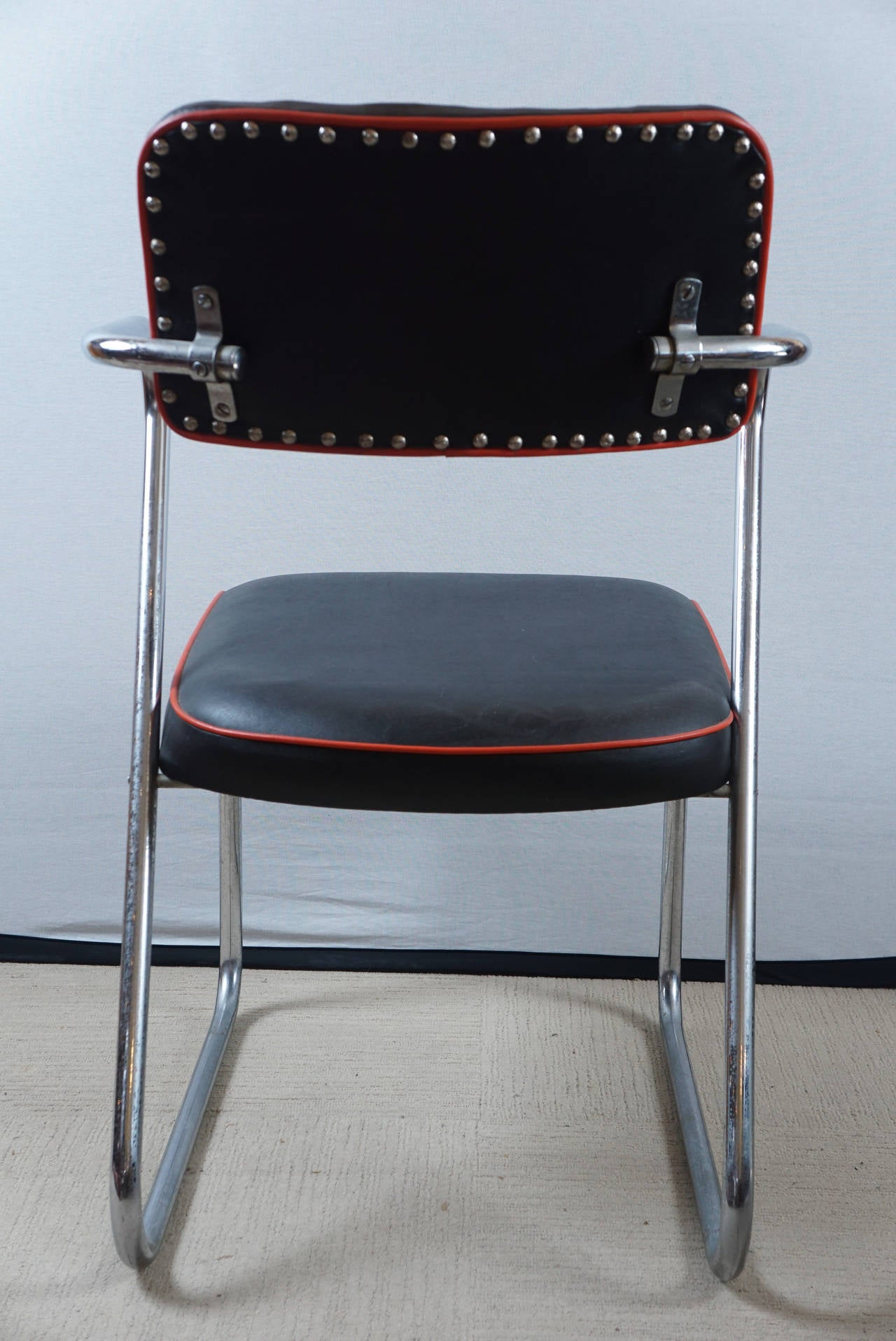 z chair for sale seated yoga poses seniors pair of royalchrome chairs by gilbert rohde royal