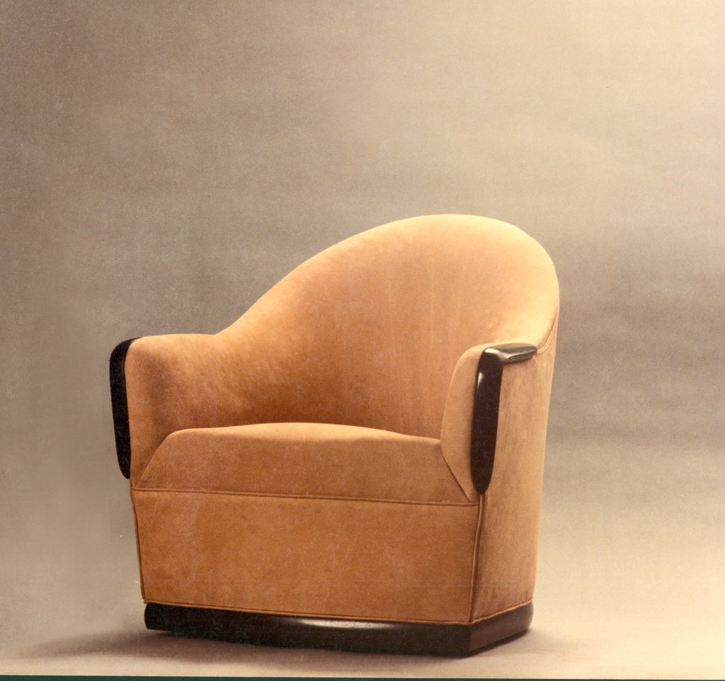 Studio Chairs Swivel Barrel Chair By American Studio Craft Artist David