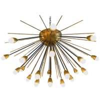 Large Sputnik Chandelier In the Style of Stilnovo at 1stdibs