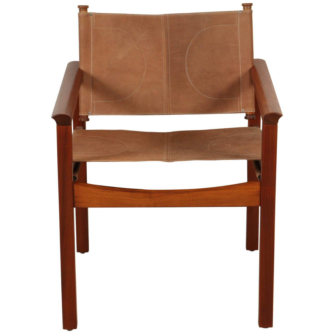 sling chairs for sale captain pontoon boats leather chair by michel arnoult at 1stdibs
