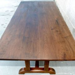 Vintage Dining Room Chairs Wooden Patio Plans Black Walnut Custom Built Table At 1stdibs
