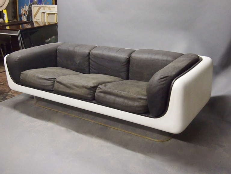 steelcase sofa platner leather sofas buffalo ny chair and coffee table by warren for ...