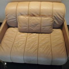De Sede Sleeper Sofa Dry Cleaning In Bangalore And Side Chair Signed 1986 ...
