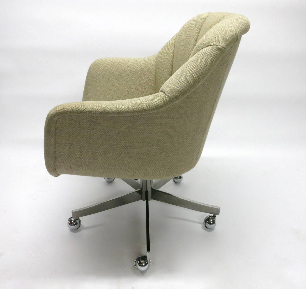 desk chair made covers b&q single swivel by ward bennett for brickell