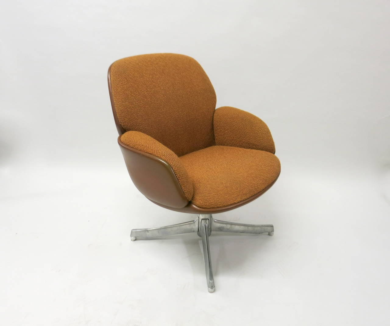 steelcase sofa platner second hand shops glasgow pair of chairs by warren for usa circa