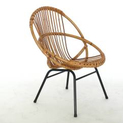 French Rattan Bistro Chairs Office Chair And Table Iron At 1stdibs