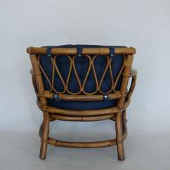 Bamboo Rattan Chair Dining Skirt And Armchairs By Ficks Reed At 1stdibs