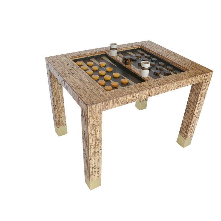 Backgammon Coffee Table. Fabulous Backgammon Coffee Table