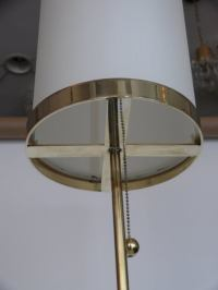 Wilshire Brass Floor Lamp by Orange Los Angeles For Sale