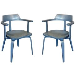 Harvard Chair For Sale Sport Folding Chairs Pair Of Quotw199 Quot Armchairs By Walter Gropius At 1stdibs
