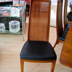 Cane Chairs For Sale Chair And Ottoman Set Cheap John Widdicomb Dining Room Table Eight At 1stdibs
