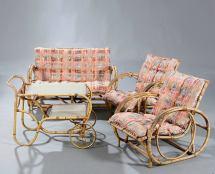 Set Of 1940s-1950s Danish Rattan Furniture 1stdibs