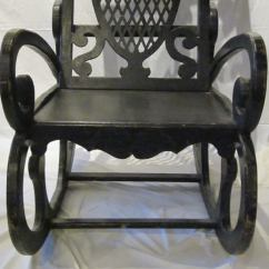 1920s Rocking Chair Covers For Chairs With Wooden Arms Oversized France Sale At 1stdibs