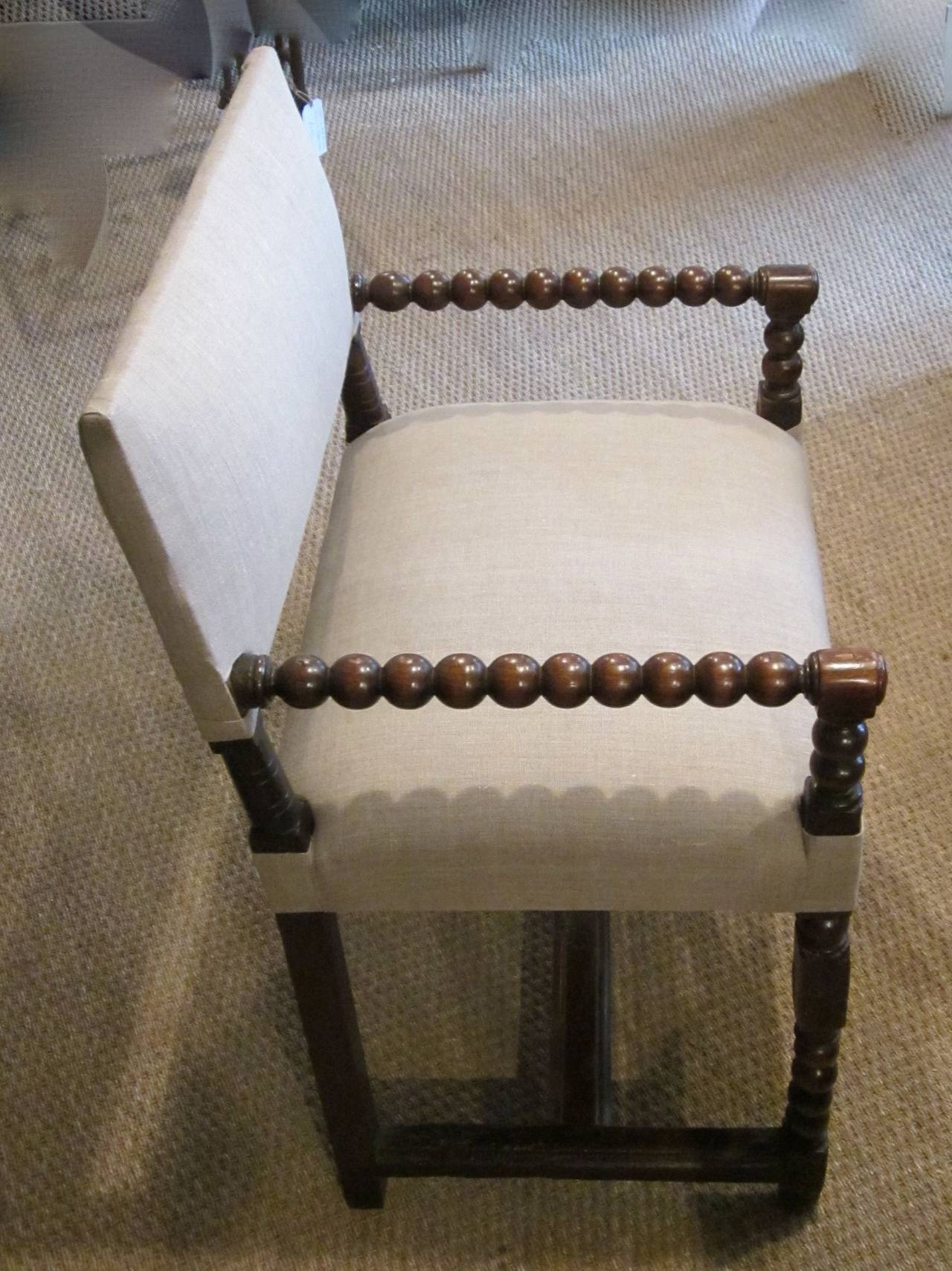 spool chair for sale revolving stand 18th century pair of his and hers upholstered side