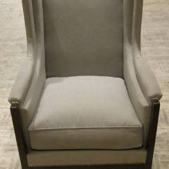 Arts And Crafts Chairs Leather Rocking Chair Recliner Pair Of French Upholstered Grey Club