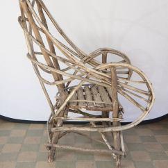 Veranda Chair Design Steel Shop Near Me Vintage Adirondack Twig Or Lawn For Sale At