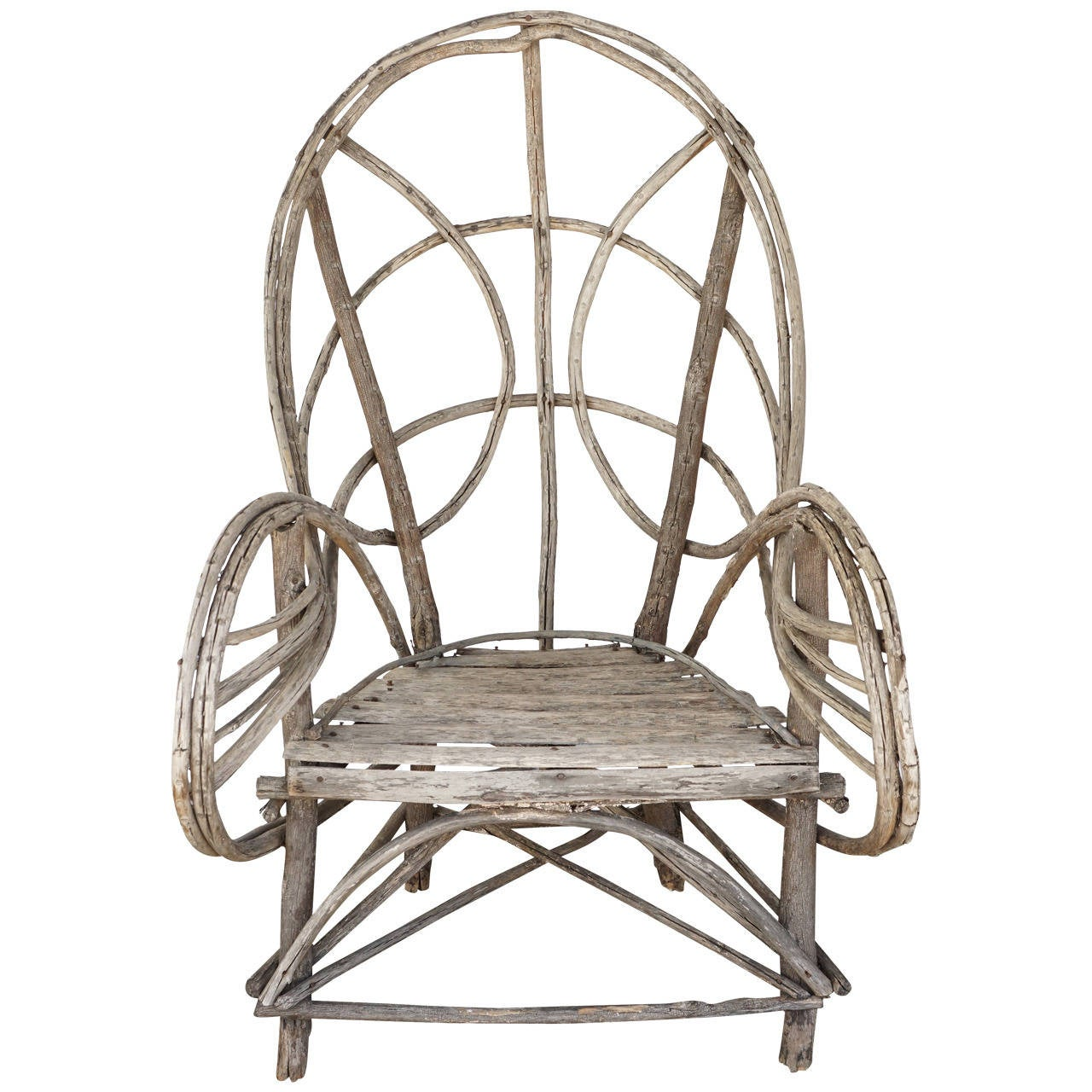 veranda chair design real leather dining table chairs vintage adirondack twig or lawn for sale at