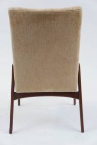 Set of 12 Mid-Century Modern Upholstered Dining Chairs at ...
