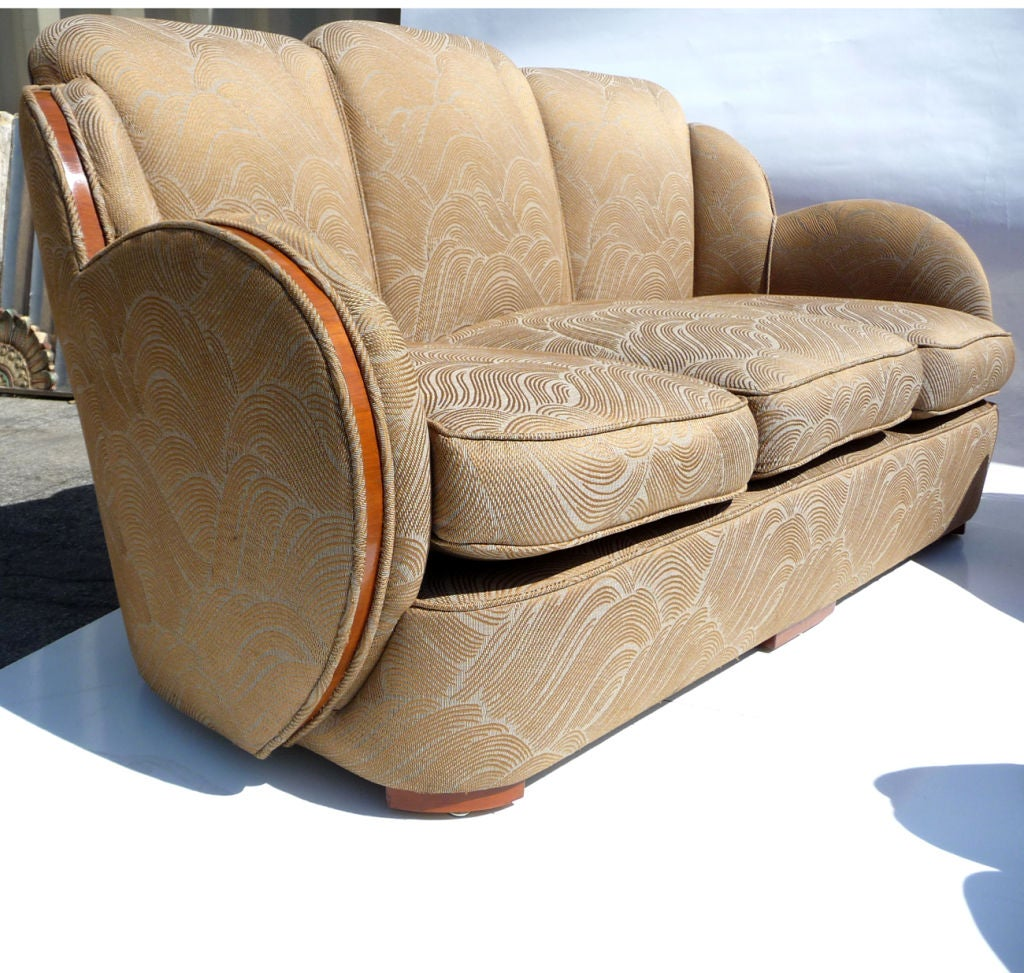 cloud sofa for sale big lots sectional sofas art deco quotcloud quot set by h and l epstein of london