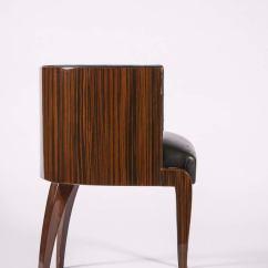 Thonet Chair Styles Outdoor Bistro Macassar Deco Barrel Back At 1stdibs