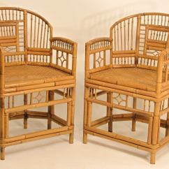 Bamboo Folding Chairs Wedding Chair Covers Jackson Ms Pair Of Chinese At 1stdibs