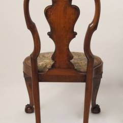 Queen Anne Style Chairs Cantilever Dining Chair Walnut Side Or Desk At 1stdibs
