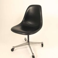 Herman Miller Chairs Vintage Tall Drafting Office Eames Shell Chair For At 1stdibs Rolling Desk Charles Dated 1977