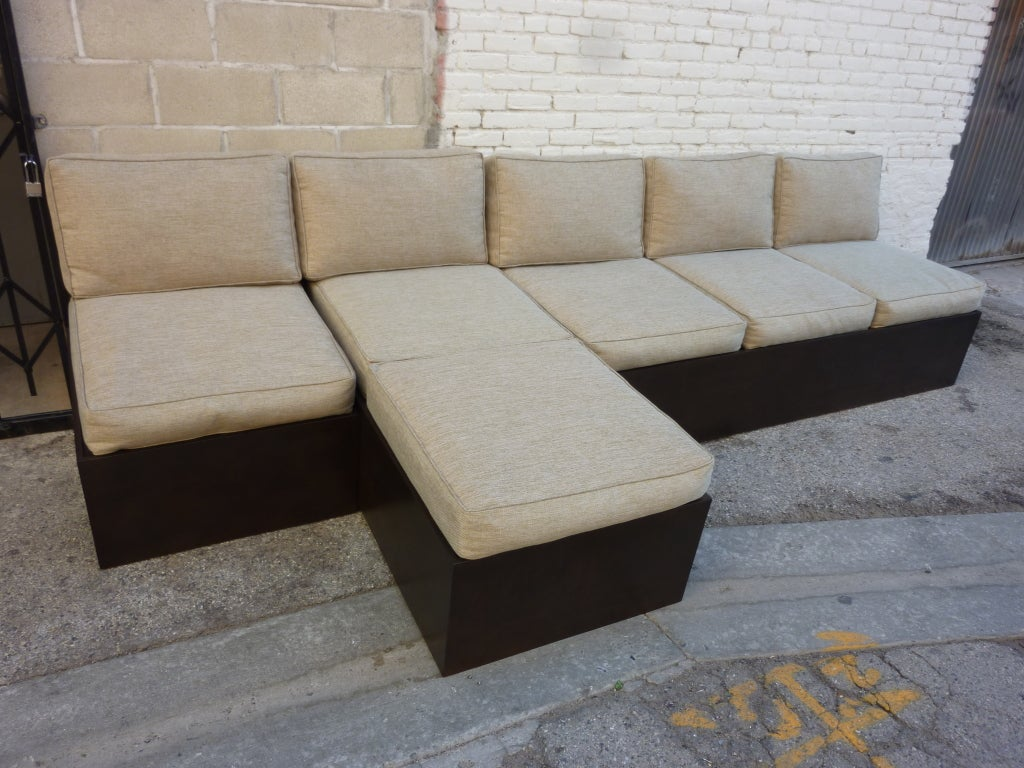sectional sofa purchase t35 mini modern black leather buy novecento studio for sale at 1stdibs