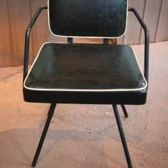Swivel Chair Child Adirondack Photo Frame Favors Mid Century Children 39s Deck At 1stdibs